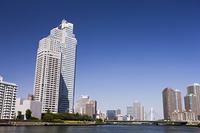 隅田川と聖路加タワー