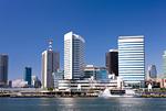 東京港と竹芝桟橋