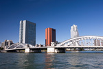 隅田川と勝どき橋