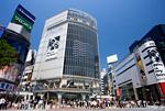 渋谷駅前のスクランブル交差点