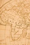 古地図 アフリカ大陸