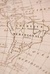 古地図 南米大陸