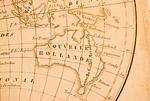 古地図 オーストラリア