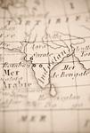 古地図 インド
