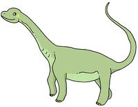 恐竜(カマラサウルス)