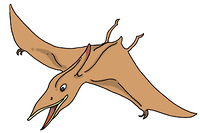 恐竜(プテラノドン)