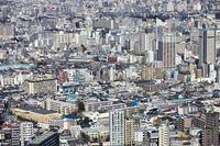 新宿 都庁舎からの展望