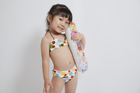 水着の女の子