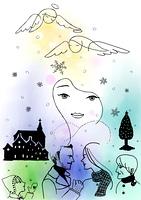 聖夜の天使