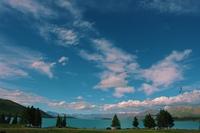 夏のテカポ湖