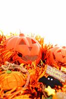 ハロウィンとかぼちゃの飾り