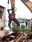 家屋の解体工事
