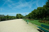 セーヌ川沿いの公園
