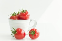 カップに入ったプチトマト