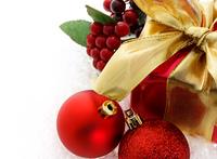 赤色のクリスマスギフト