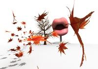 木枯らしを起こす口