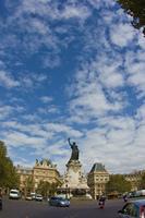 パリの彫像