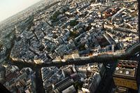 パリの展望台からの眺め