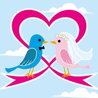 小鳥の結婚式