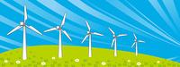 風力発電横位置