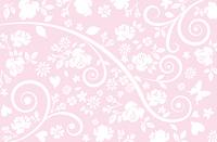 蔦模様 背景 ピンク