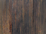 錆びたトタン塀