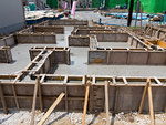 住宅の基礎工事