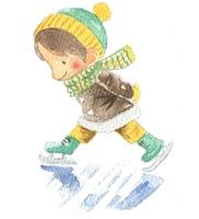 スケート(カラー)