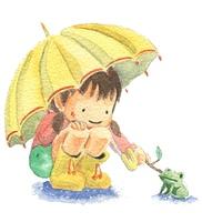 雨の日(カラー)