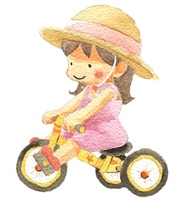 三輪車(カラー)