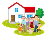 大家族と二世帯住宅