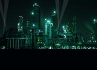 四日市の工業地帯
