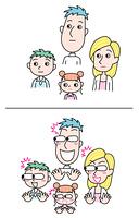 ビックリする家族