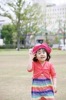 公園と女の子