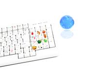 干支とエコキーボード ビジネスキーボード