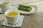 お茶と草団子