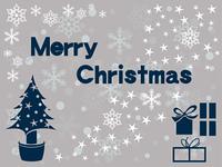 白いクリスマス素材