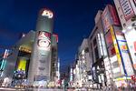夕暮れの渋谷