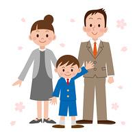 入学式/男の子