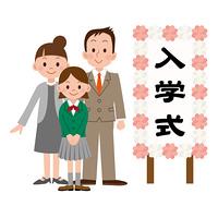 入学式/女の子