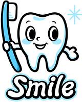 歯のキャラクター(Smile)