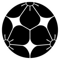 家紋[三つ割桔梗]