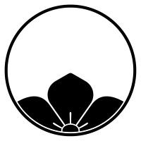 家紋[糸輪に覗き桔梗]