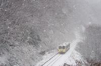 雪降るおろちループ