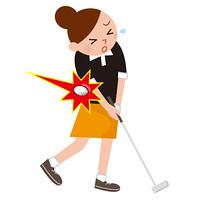 ゴルフ 事故