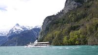 ルツェルン湖と観光船