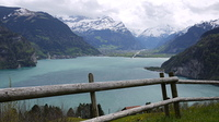 ルツェルン湖とアルプスの山並み