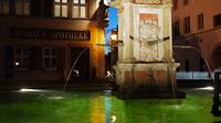 ローテンブルクの夜と噴水