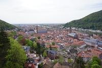 ハイデルベルク城からの眺め
