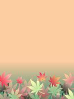紅葉のフレーム
